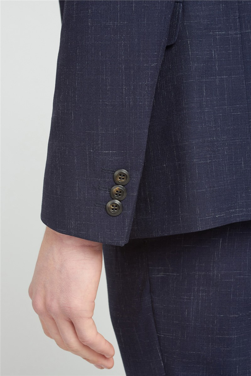 Midnight Navy Fleck Slim Fit Suit