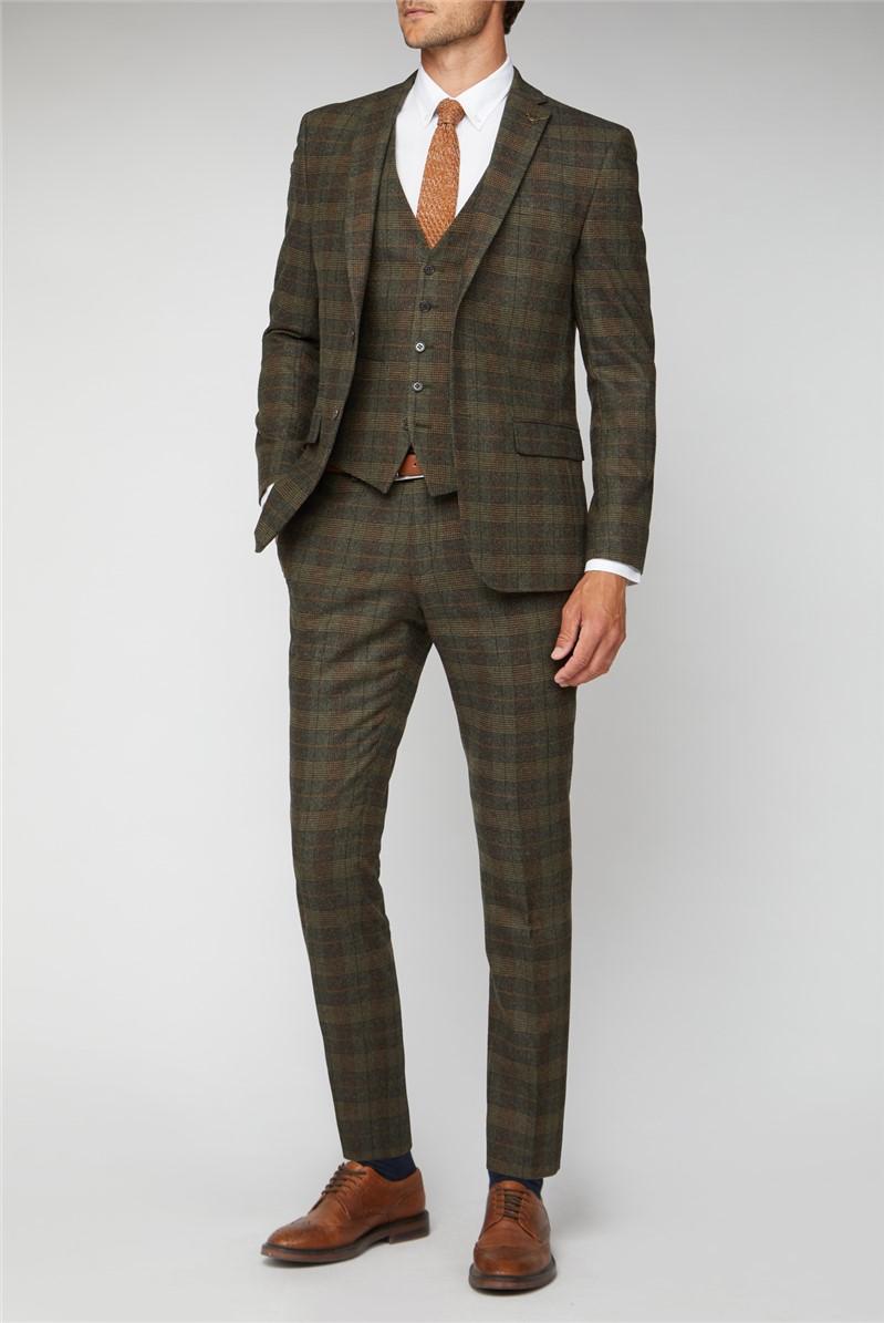 Green Heritage Tweed Tailored Suit
