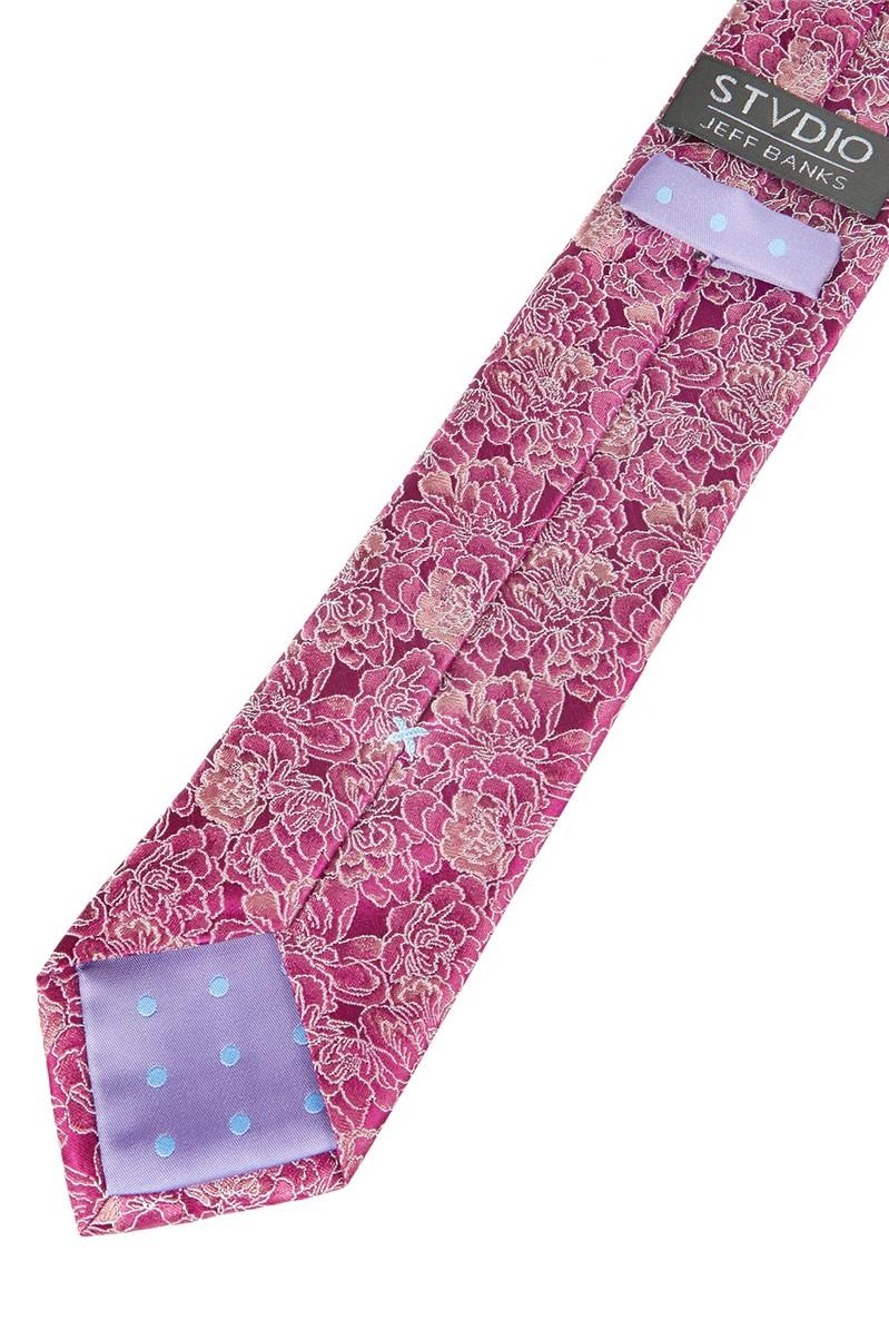 Stvdio by  Magenta Carnations Tie