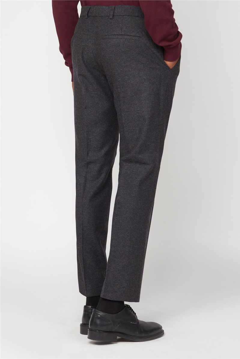 Grey Donegal Suit Trousers