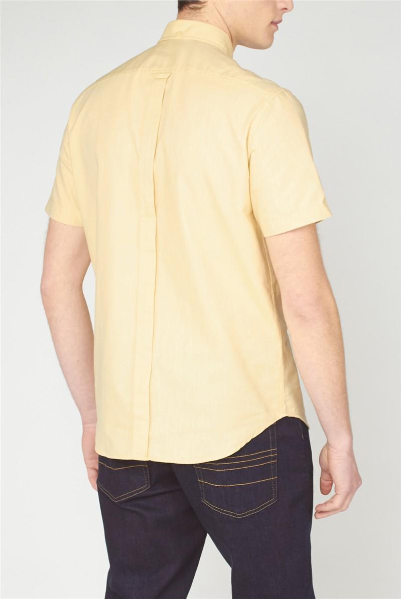 Organic Cotton Short Sleeve Oxford Shirt