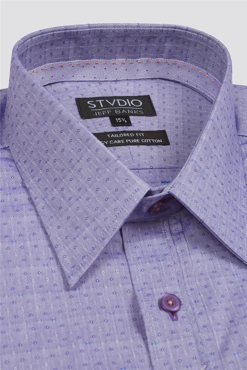 Stvdio Diamond Dobby Formal Shirt