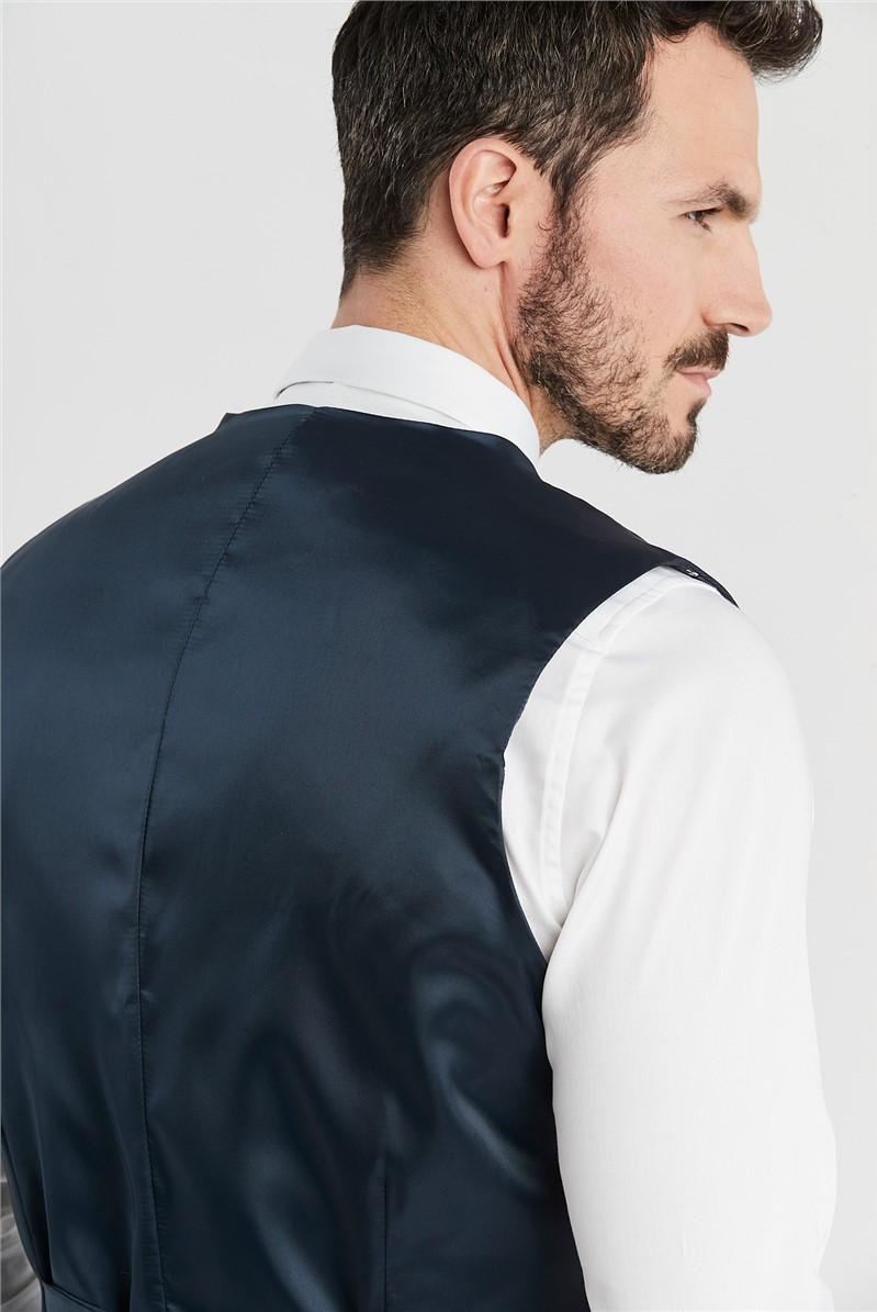 Deep Blue Birdseye Regular Fit Suit