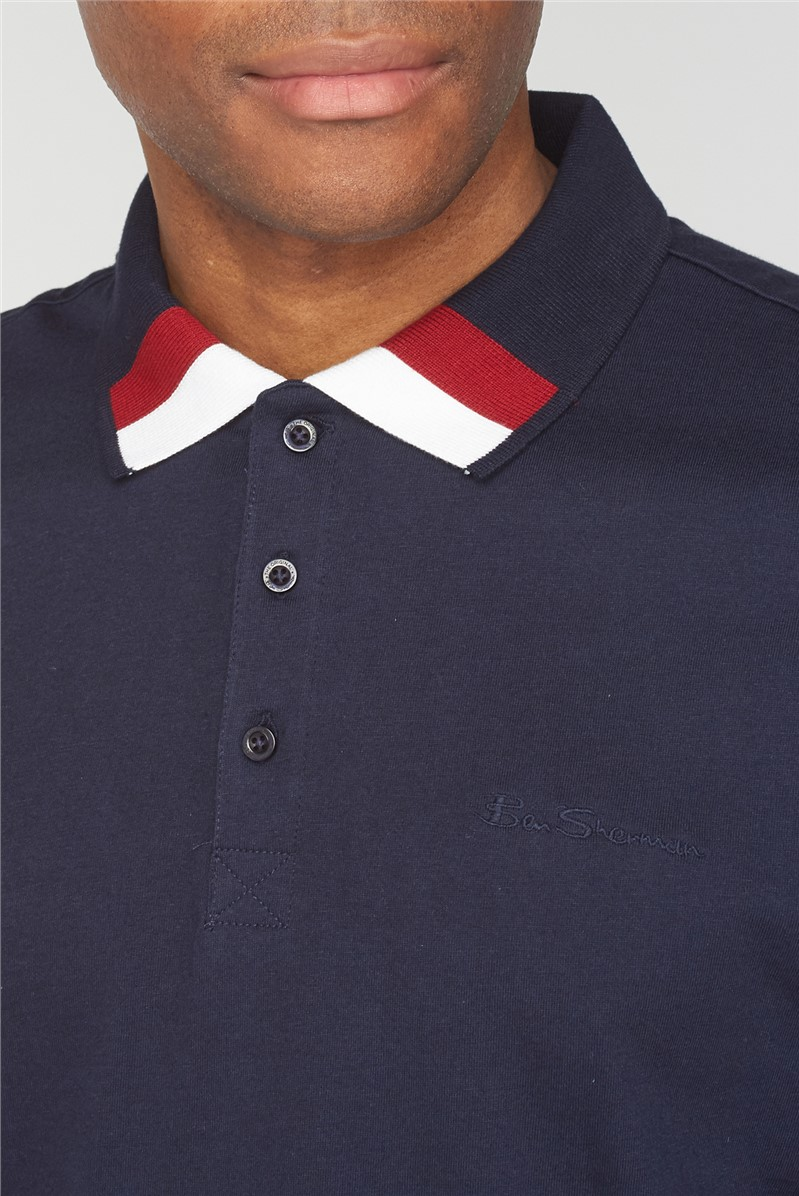 Clean Trim Jersey Polo