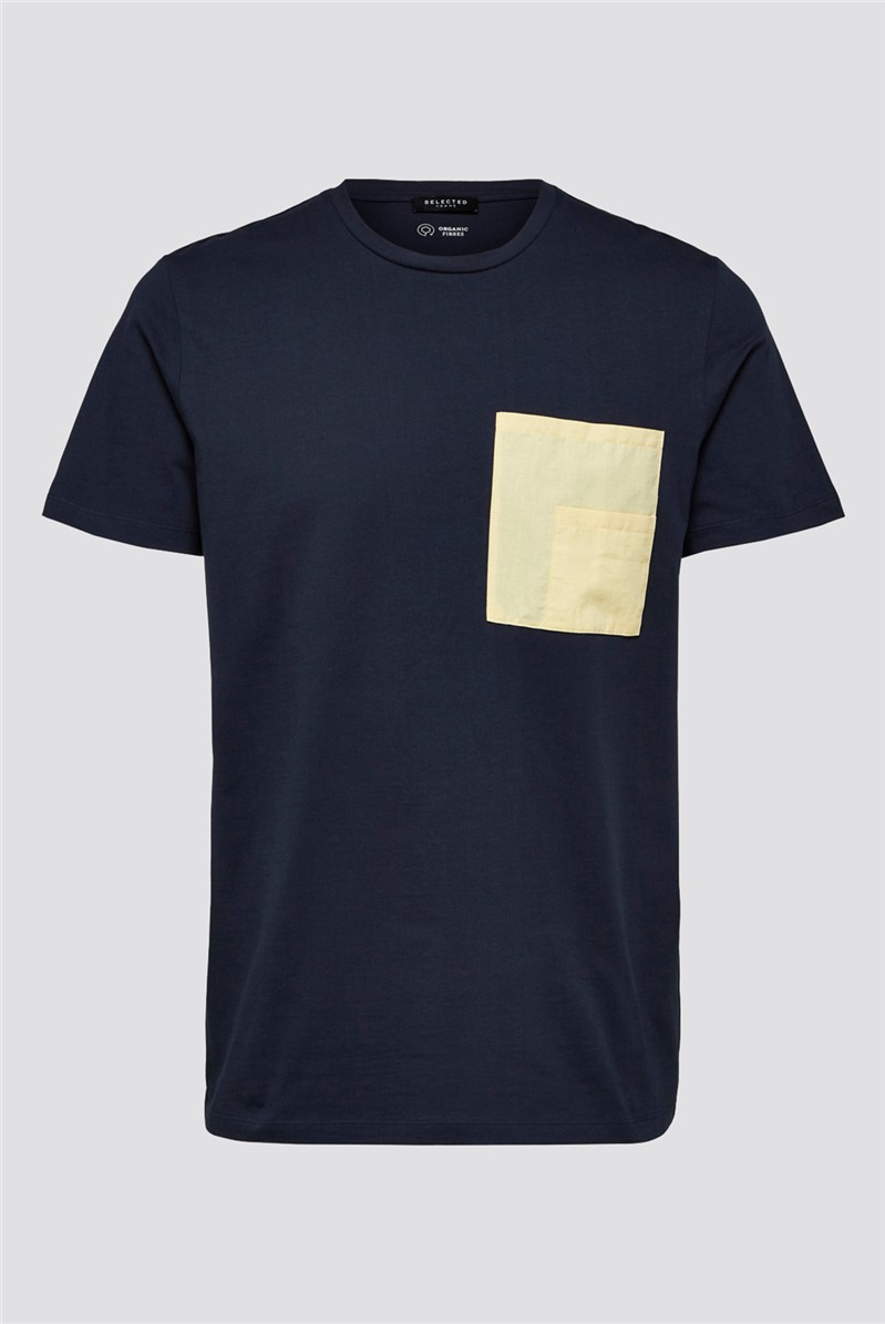 Goodwin Pocket T-shirt in Navy