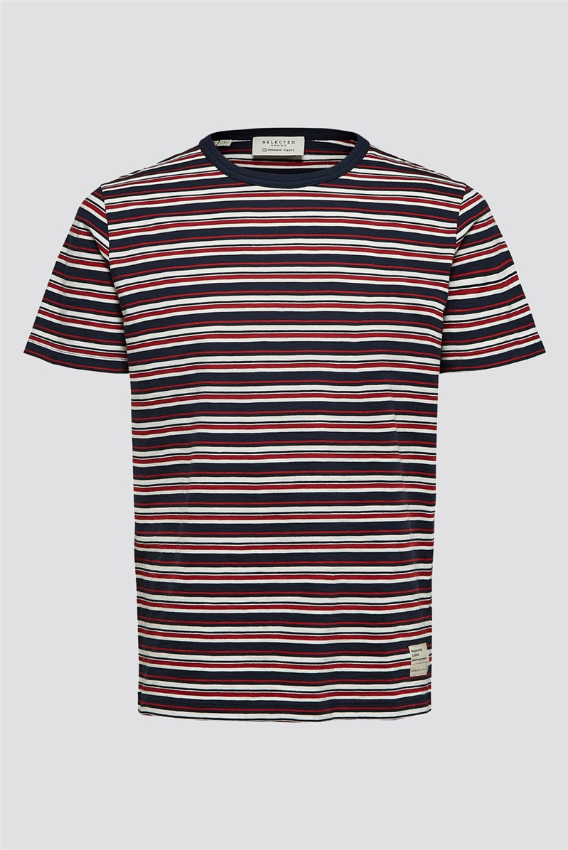 Striped T-Shirt in Red