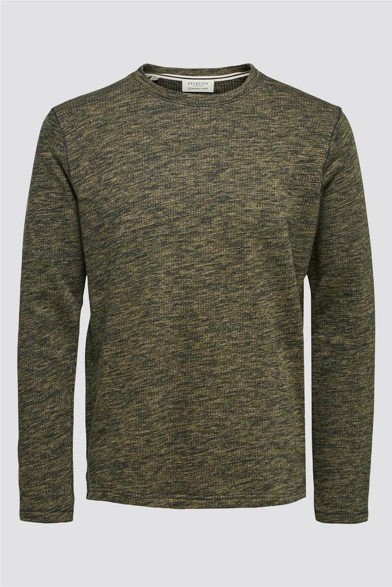 Jay Crew Neck Sweatshirt in Green