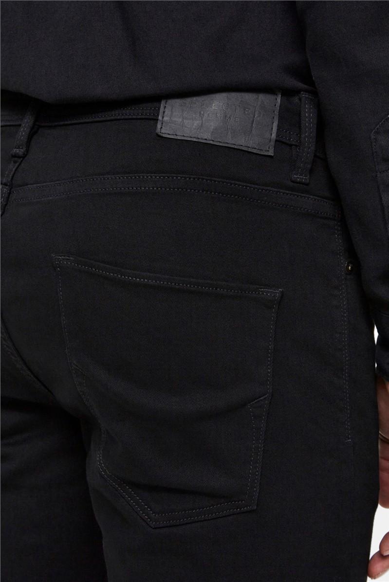 Leon Slim Fit Jeans in Black