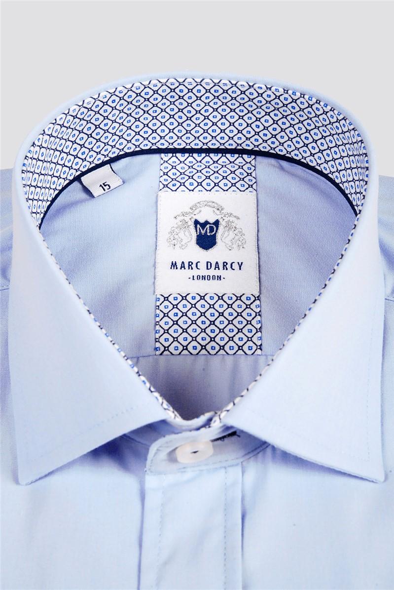 Sergio Light Blue Classic Fit Shirt