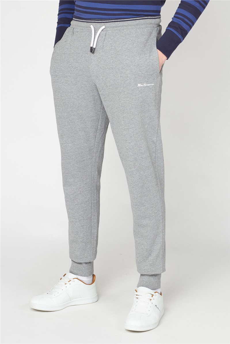 Grey Tipped Waistband Jogger