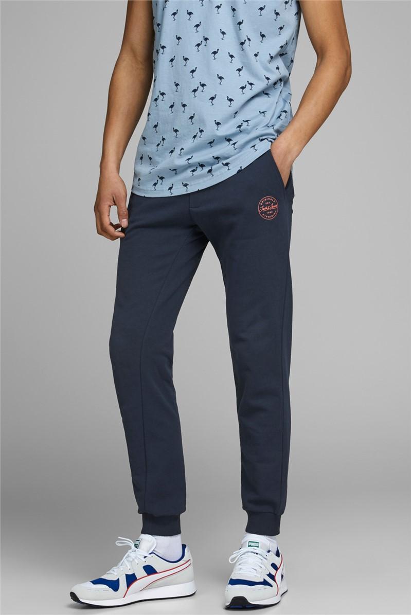Navy Logo Sweat Pants