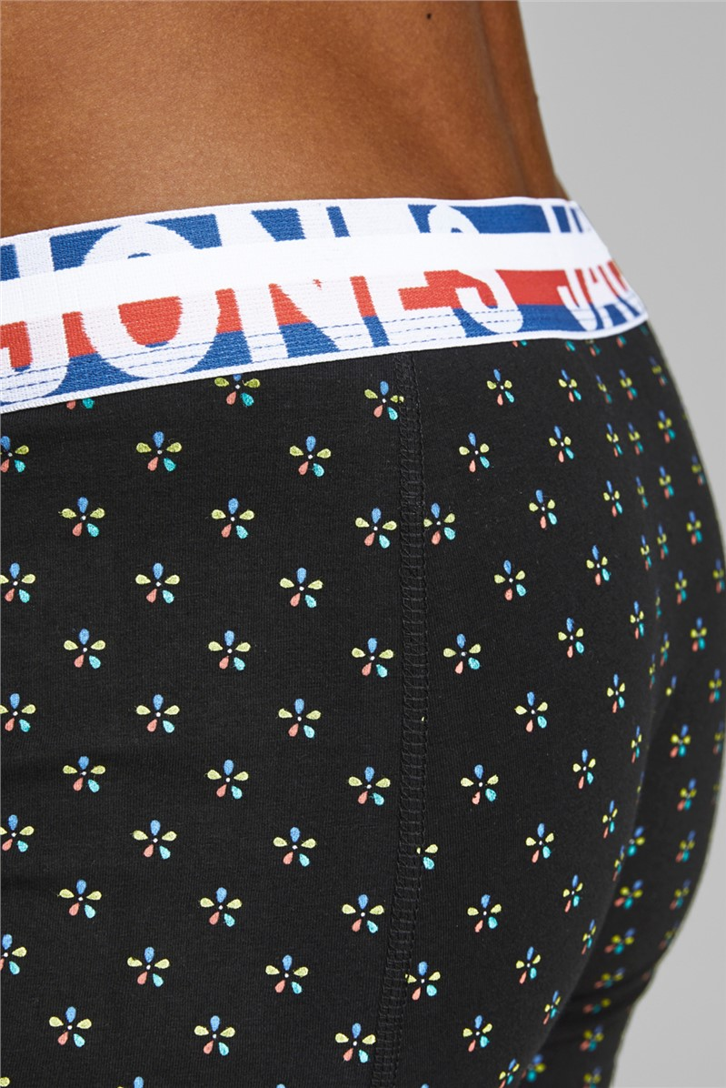 3 Pack Patterned Boxer Shorts