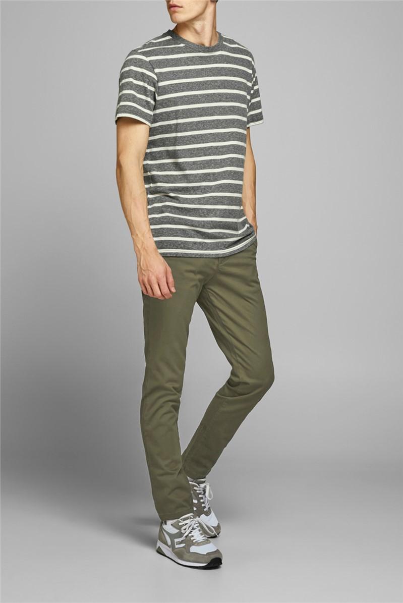 Green Slim Fit Chino