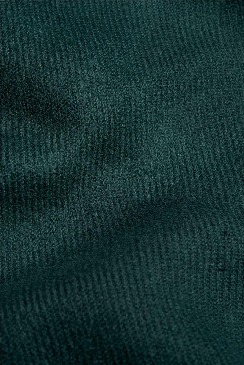 Green Woven Scarf
