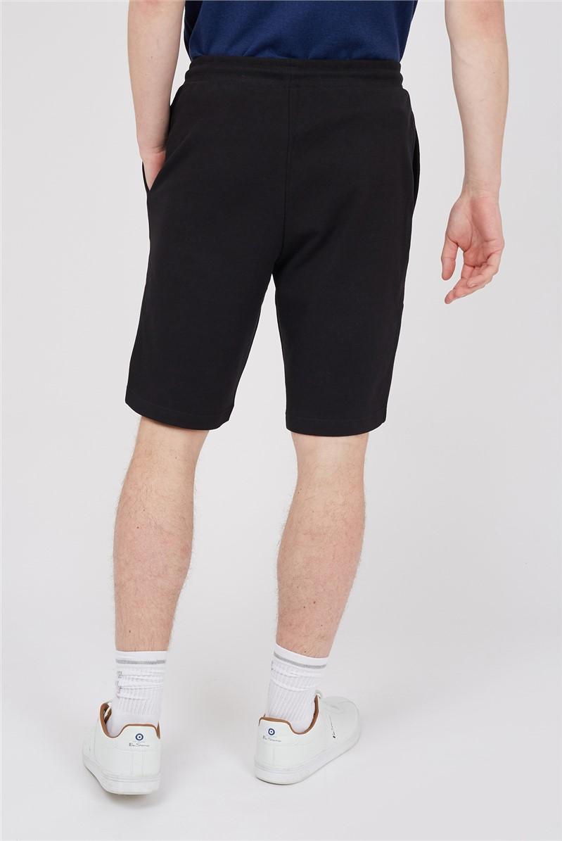 Black Target Logo Jersey Shorts
