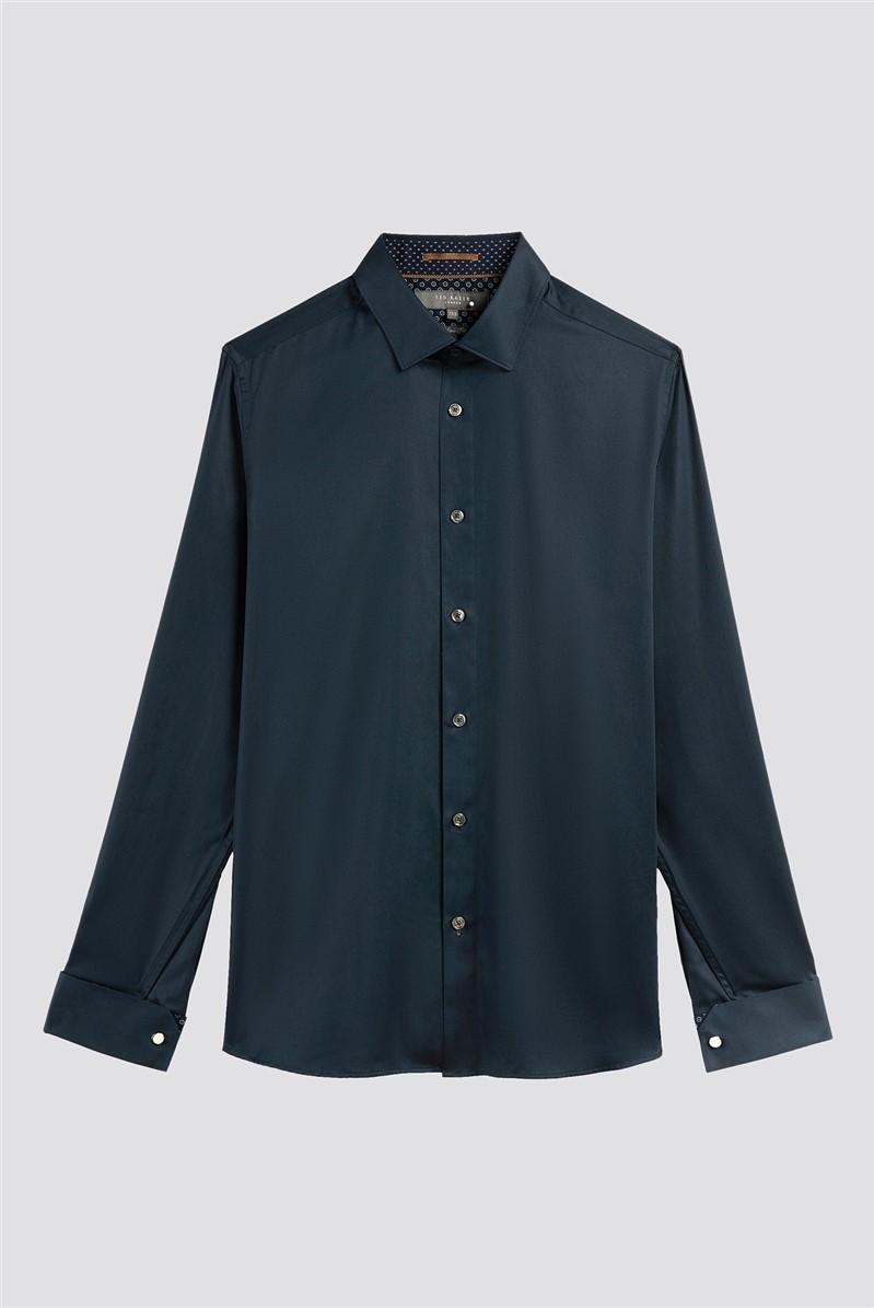 Navy Slim Fit Shirt