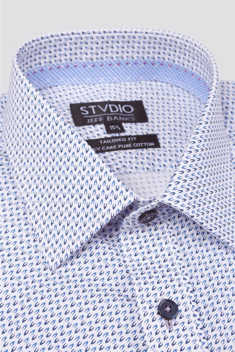Stvdio Multi Print Formal Shirt