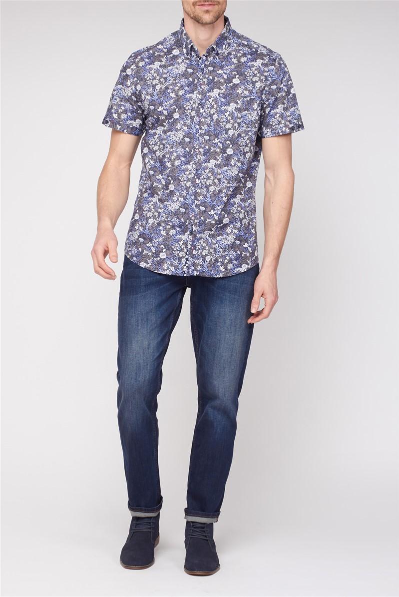 Short Sleeve Floral Shirt