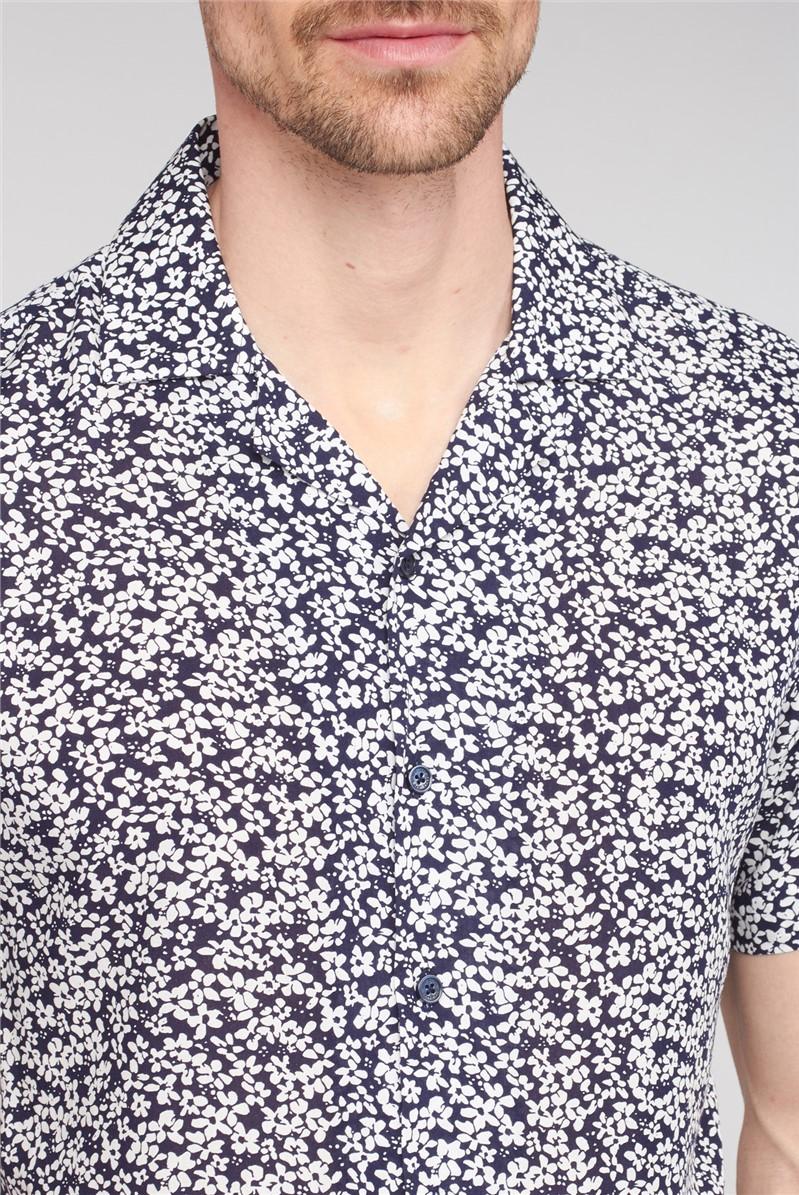 Viscose Floral Print Shirt