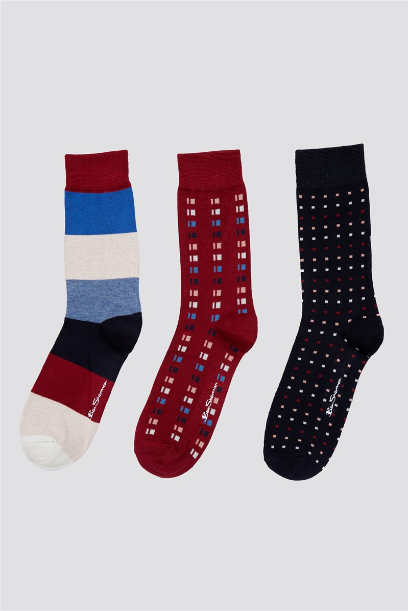 Wintergreen Multipack Socks