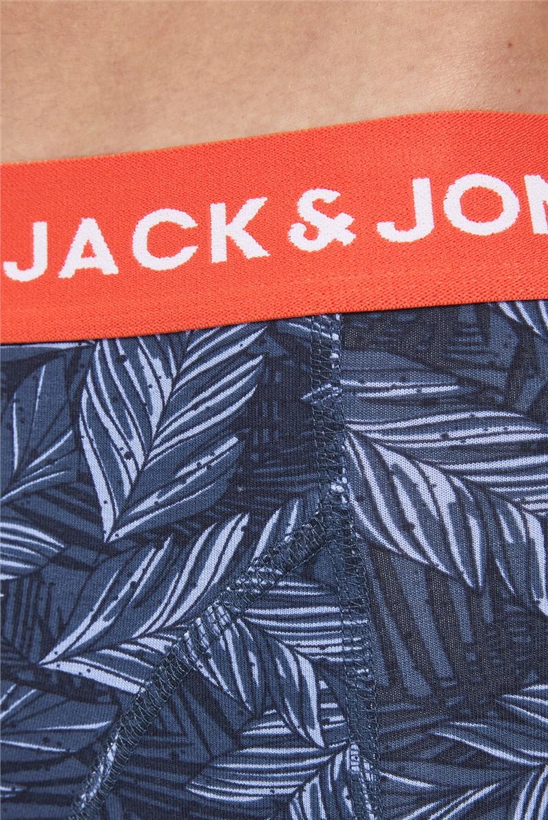 JACK & JONES Multi Pack 3 Leaves Boxer