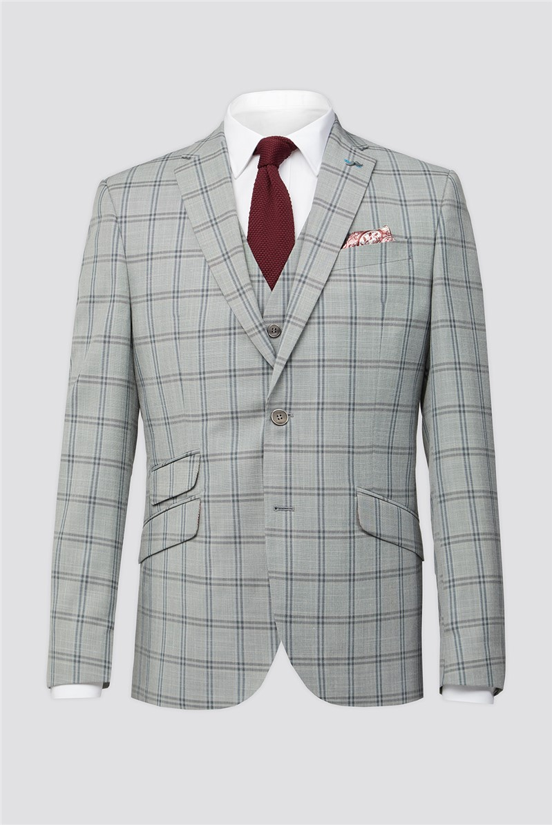 Grey Check Suit