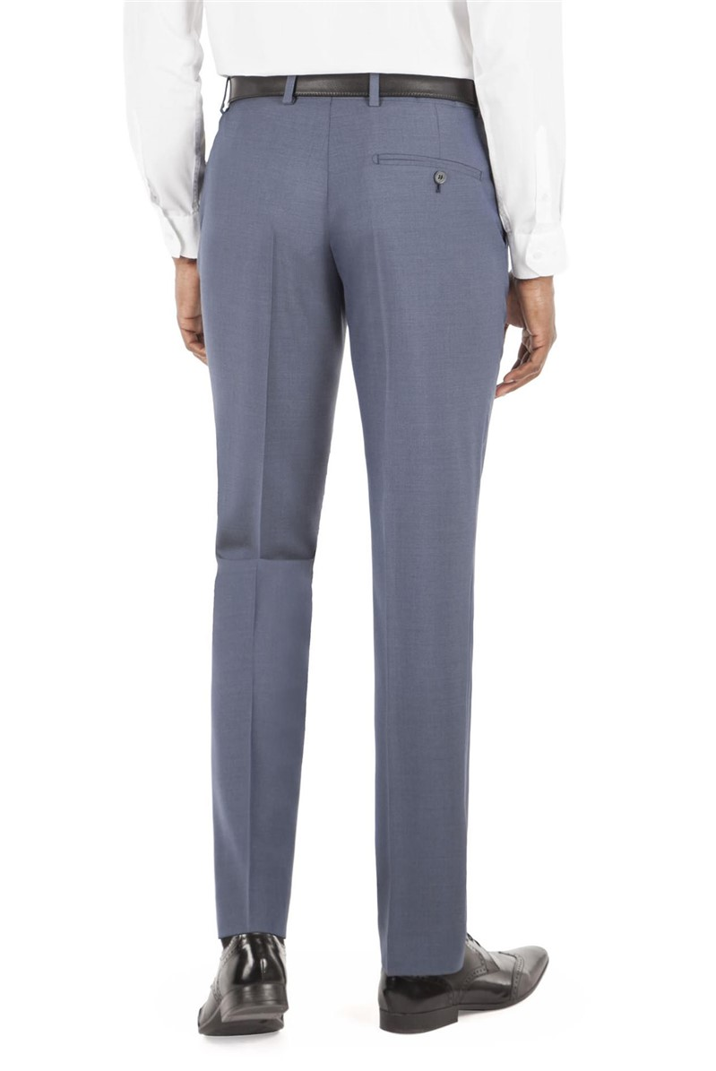 Airforce Blue Tailored Fit Trouser