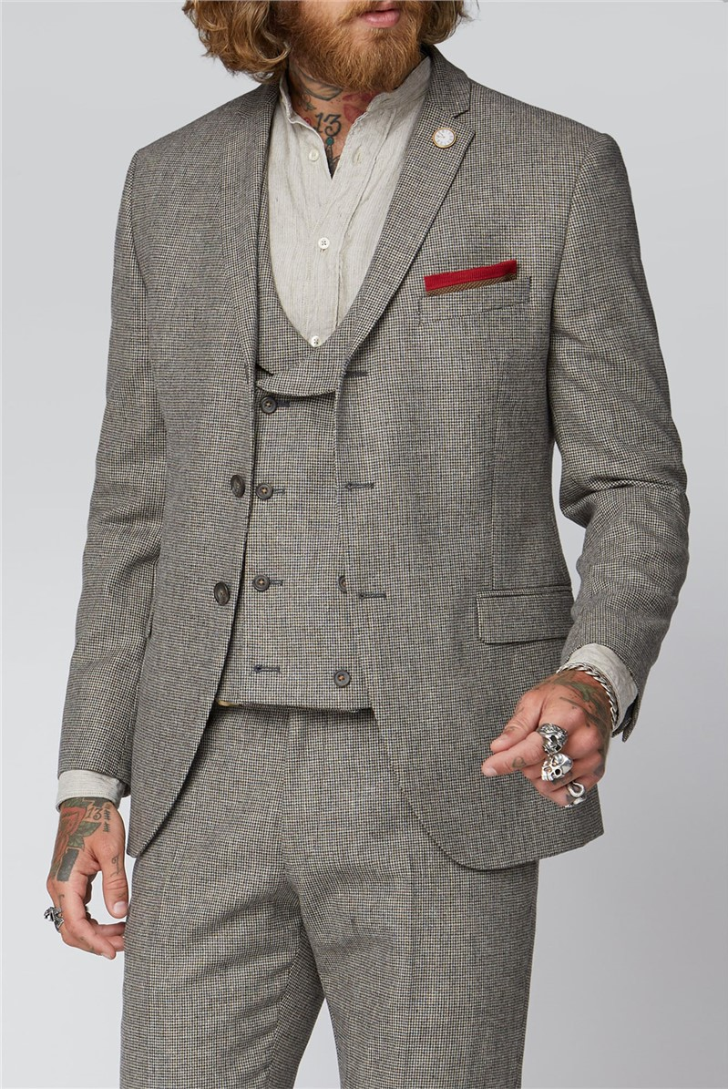 Slate Puppytooth Jacket