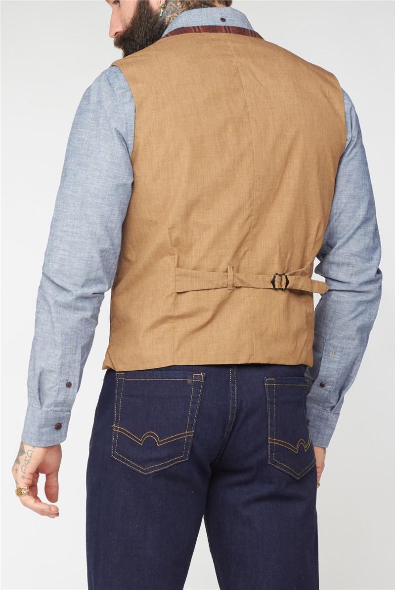 Orange Check Coat