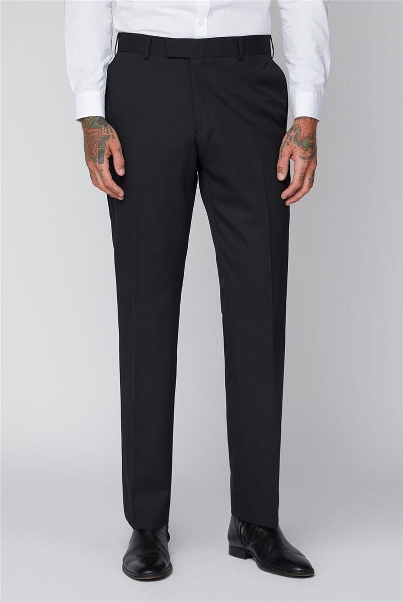 Black Twill Trouser