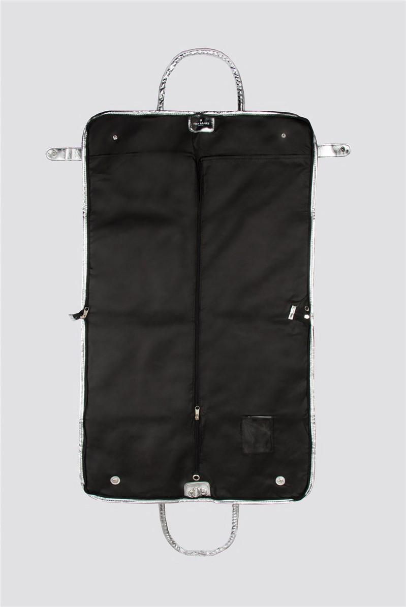 Silver Trim Suit Carrier