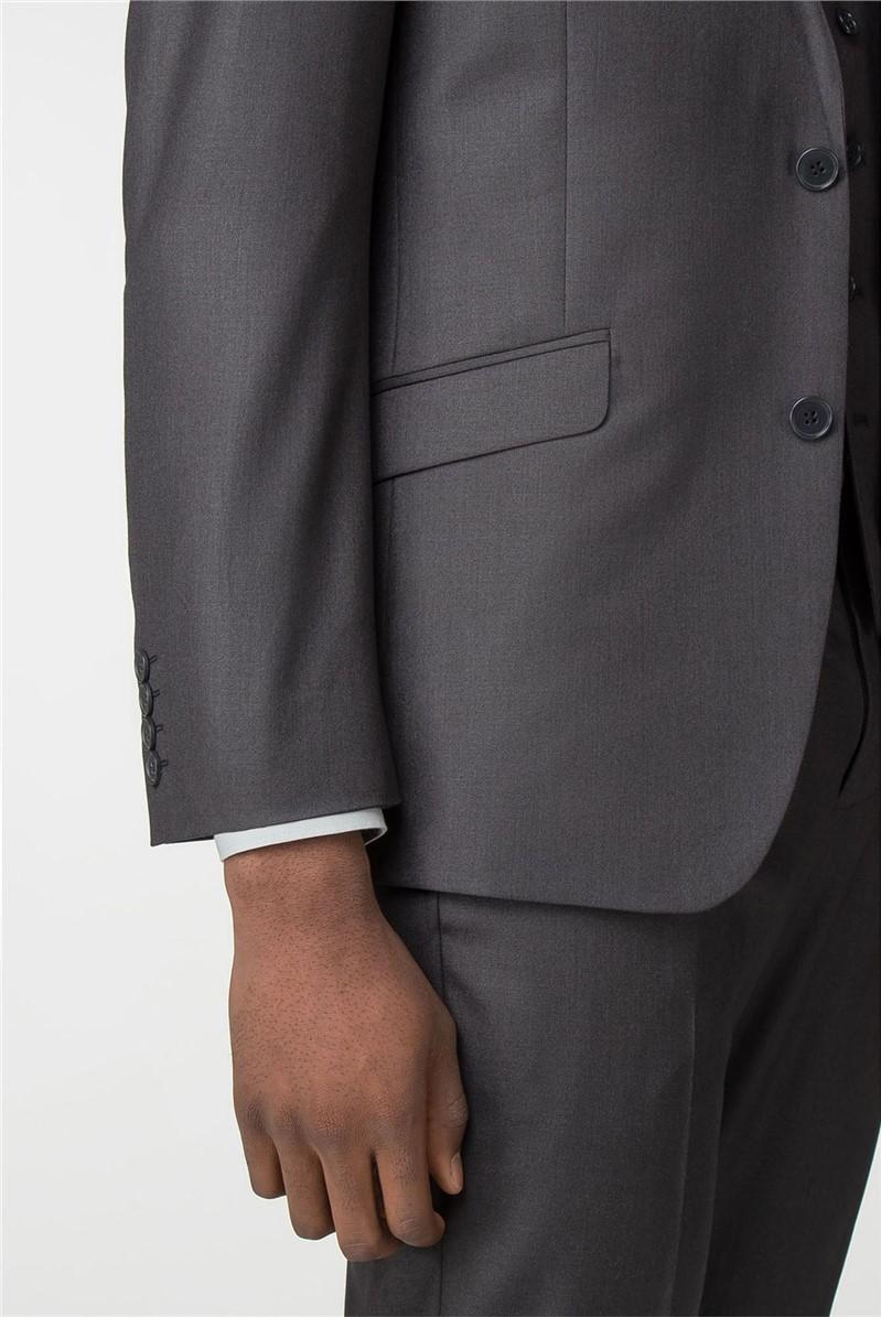Graphite Twill Slim Fit Suit Waistcoat
