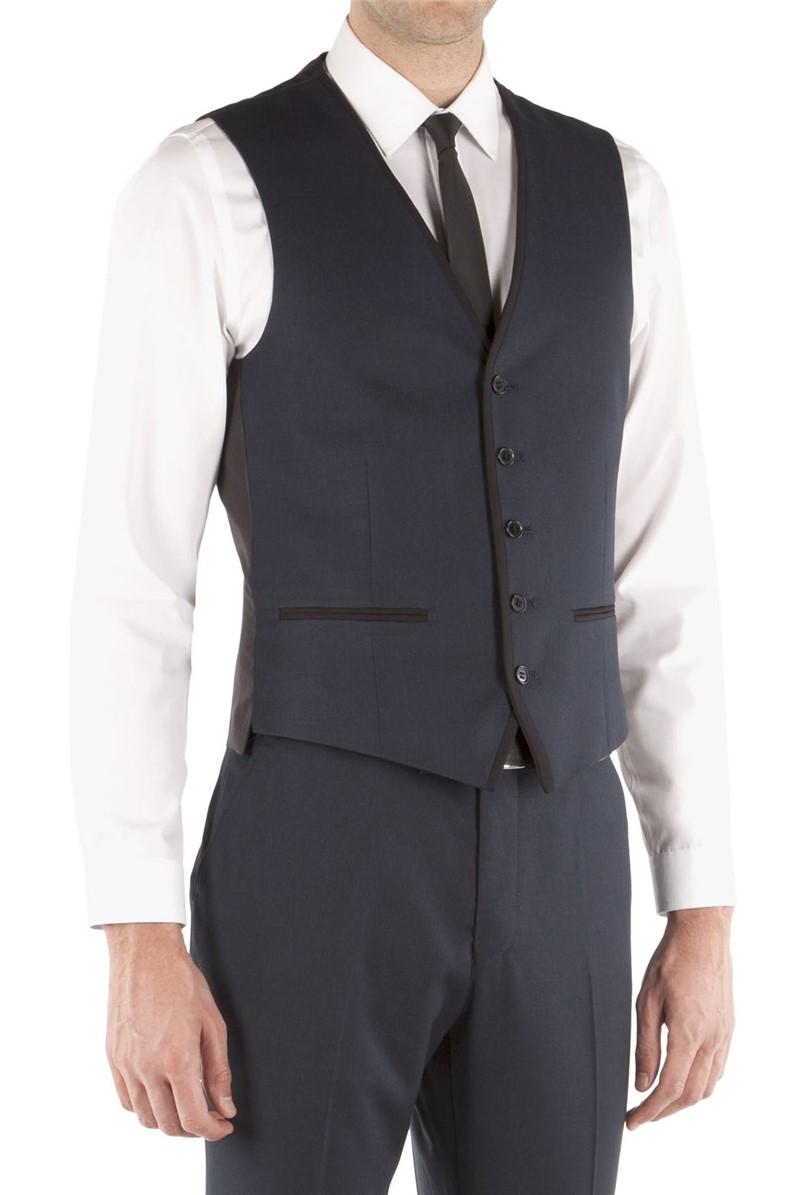 Navy Tonic Slim Fit Waistcoat