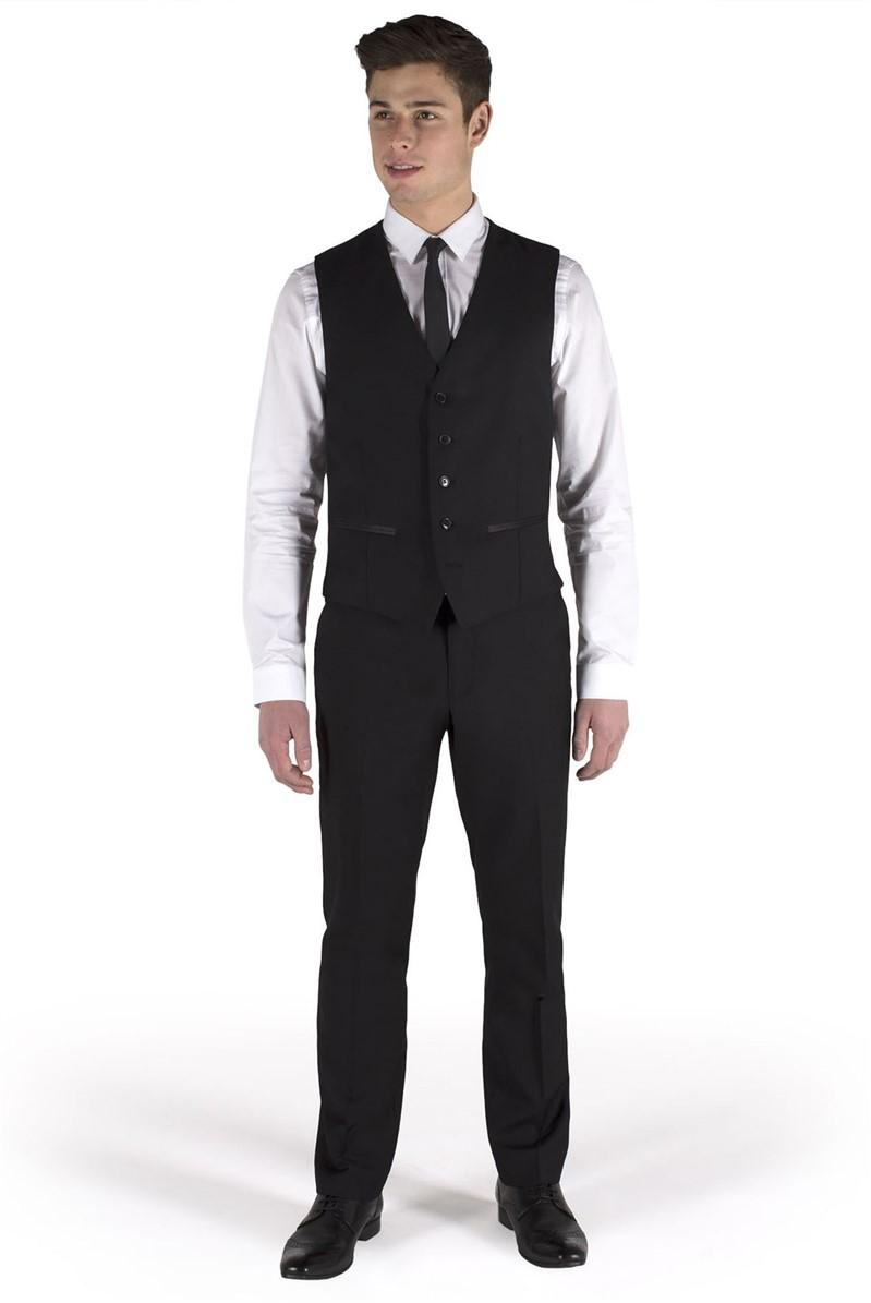 Black Dresswear Waistcoat