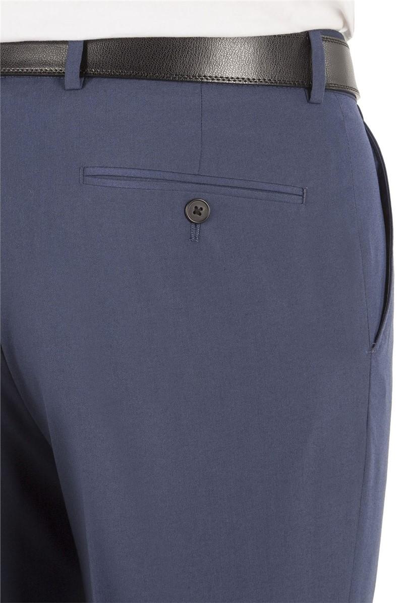 Blue Regular Fit Trouser