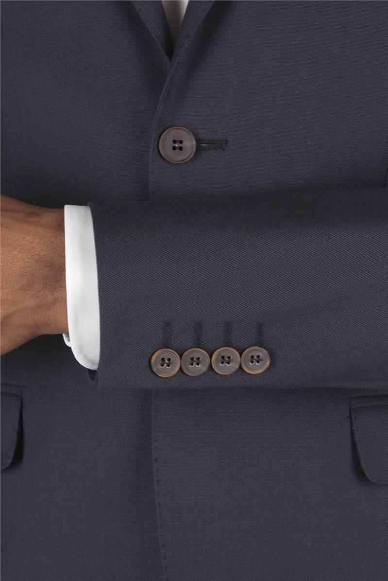 Navy Eldora Tailored Fit Blazer