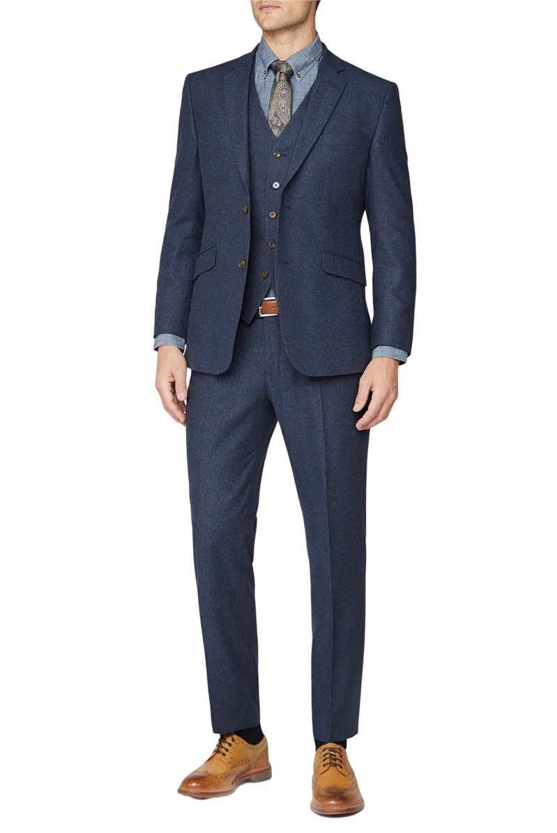 Navy Donegal Jacket