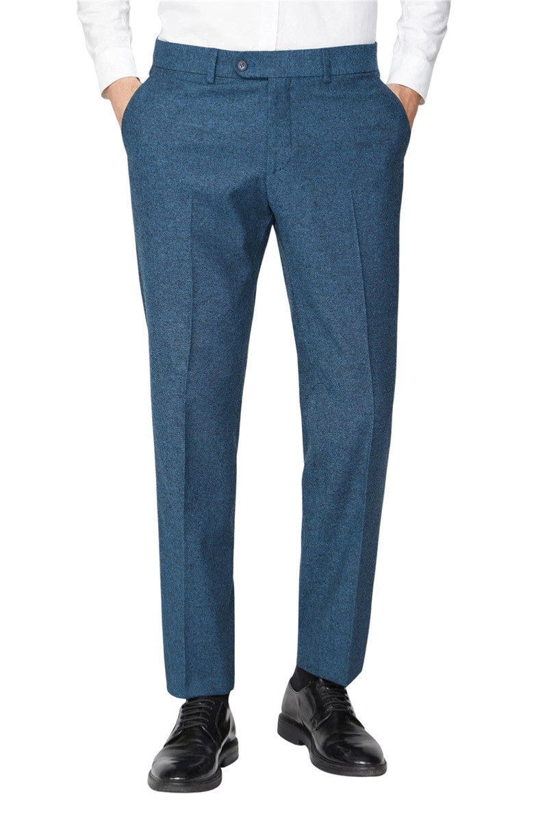 Blue Donegal Trousers