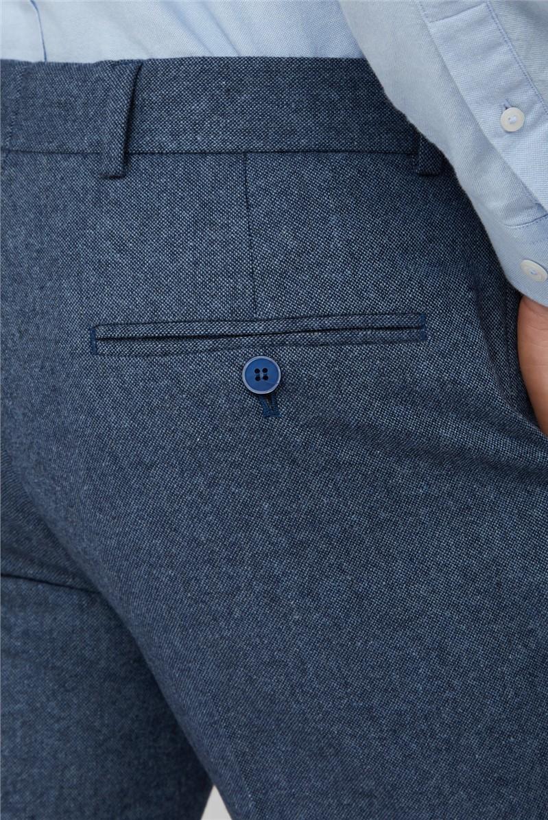 Blue Donegal Waistcoat