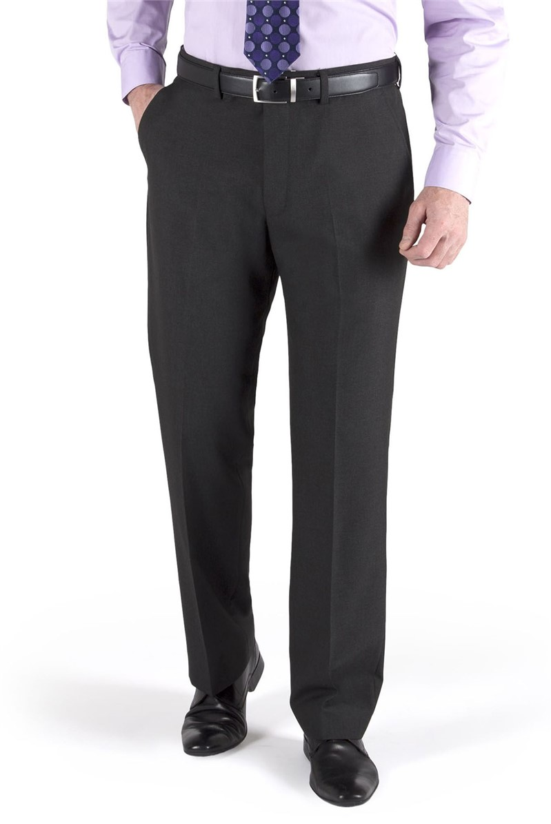 Charcoal Suit Trouser