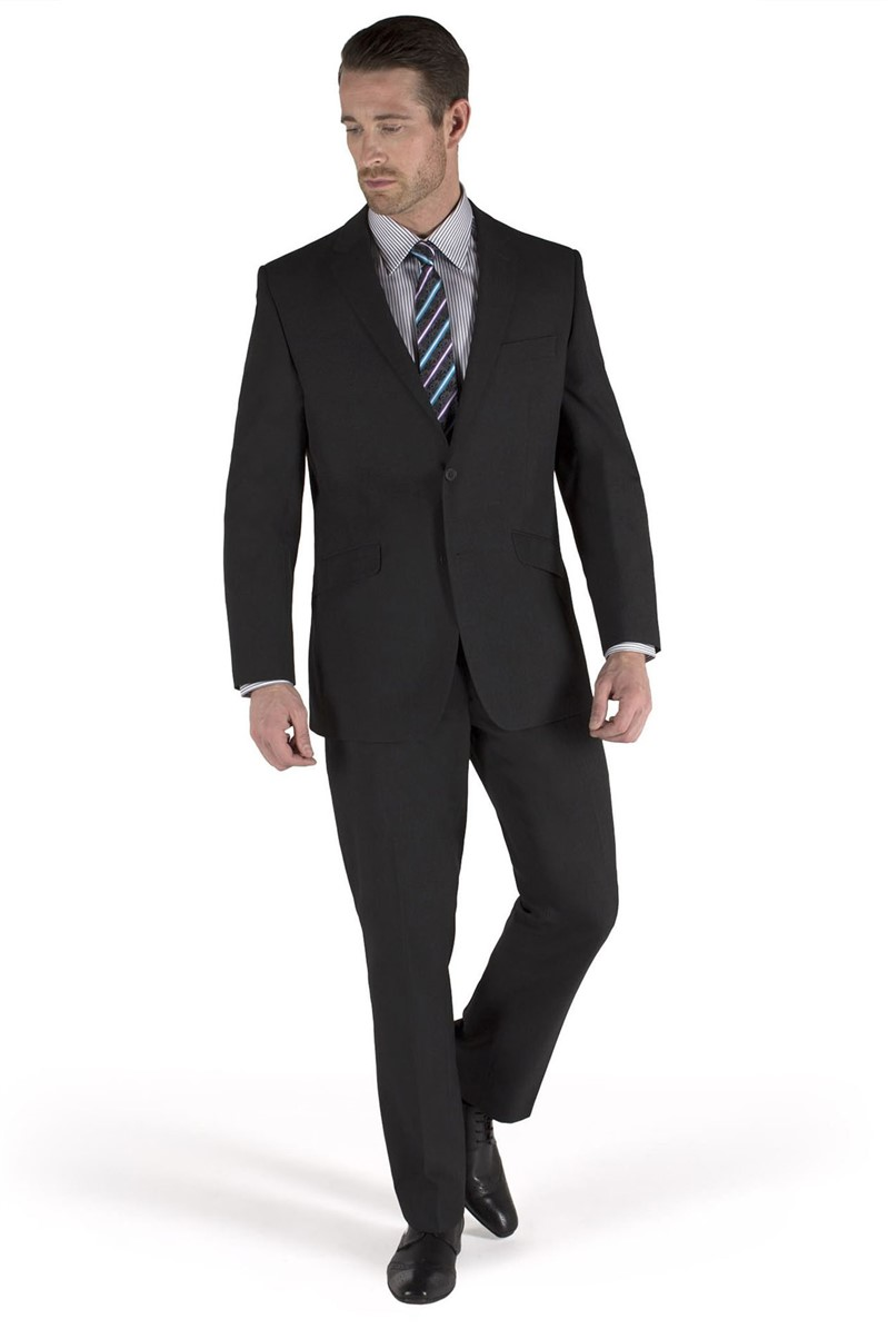 Charcoal Tailored Suit Trouser
