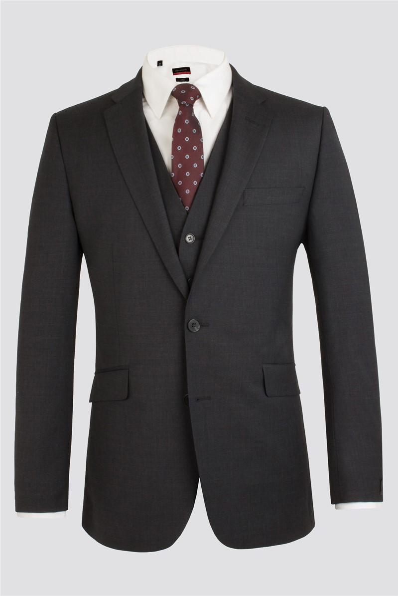 Charcoal Classic Fit Suit