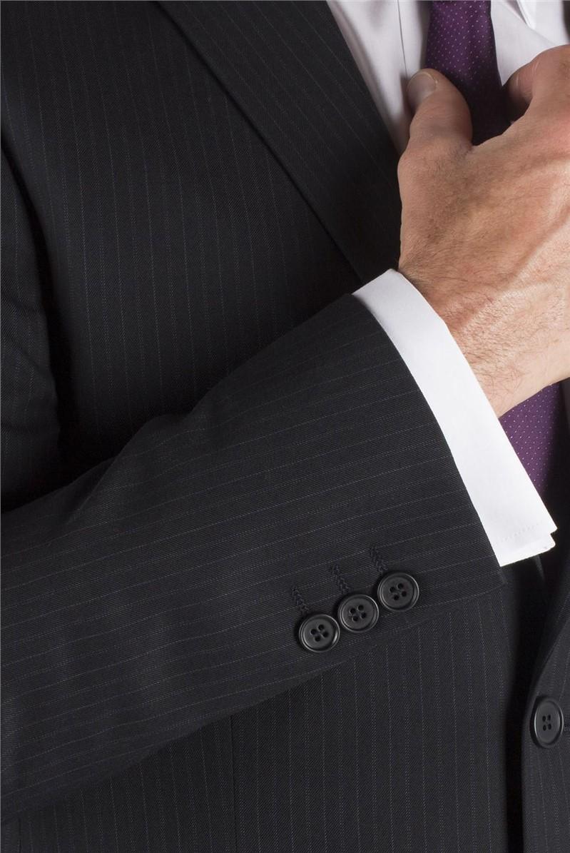 Navy Stripe Suit