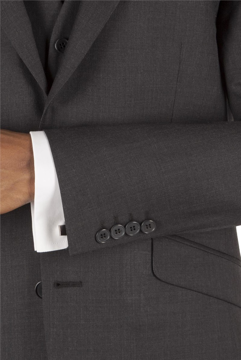Charcoal Pick & Pick Tailored Fit Suit Jacket