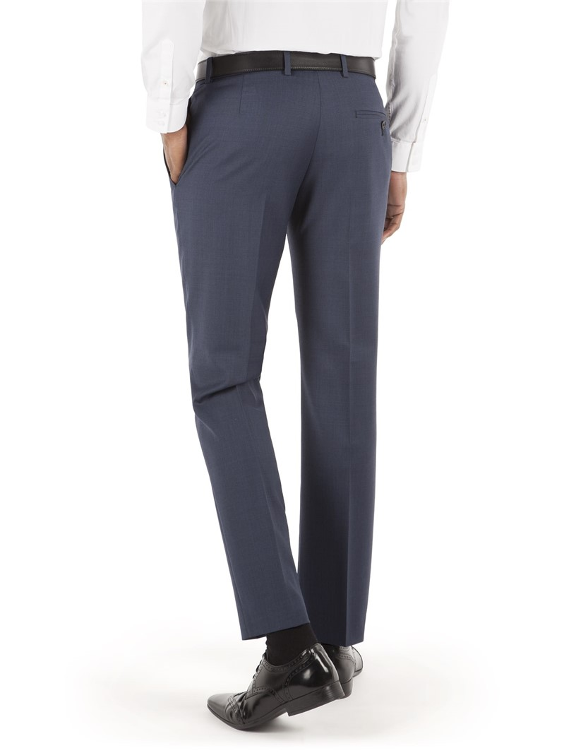 Navy Pick & Pick Slim Fit Trouser