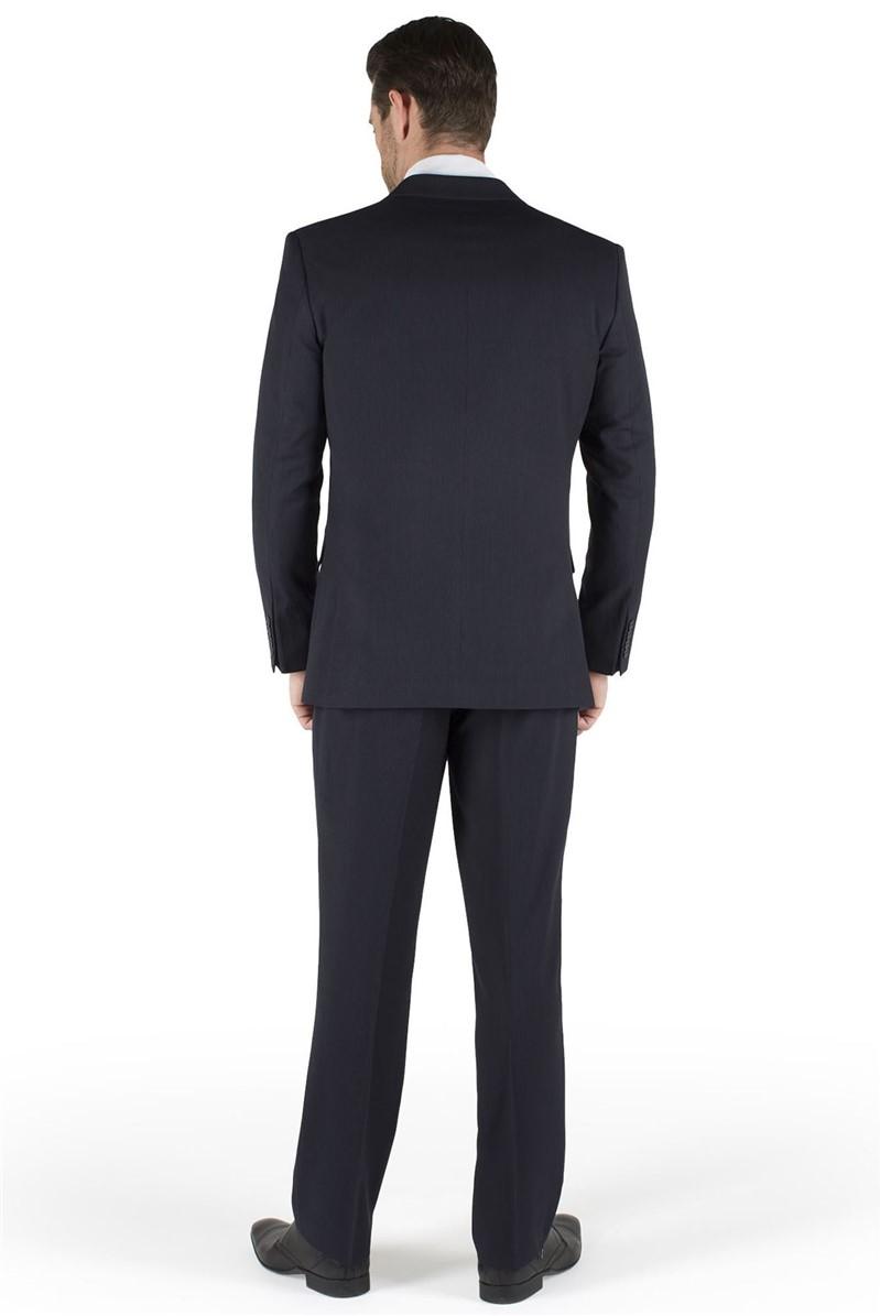 Navy Stripe Suit Jacket
