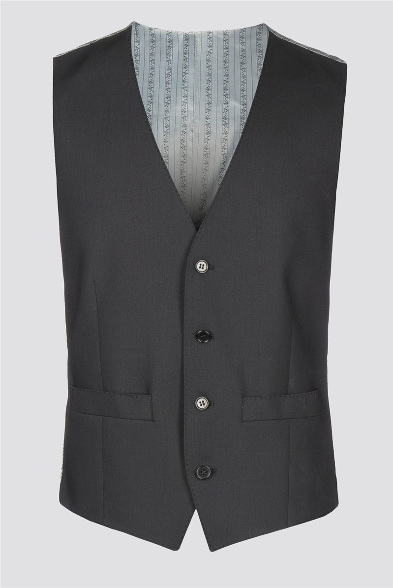 Black High Comfort Vest