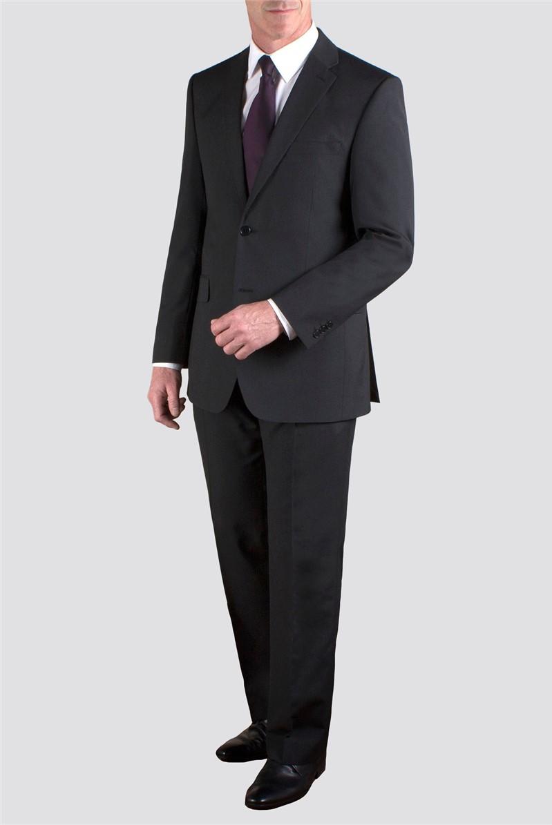 Black stripe Regular Fit Suit Jacket