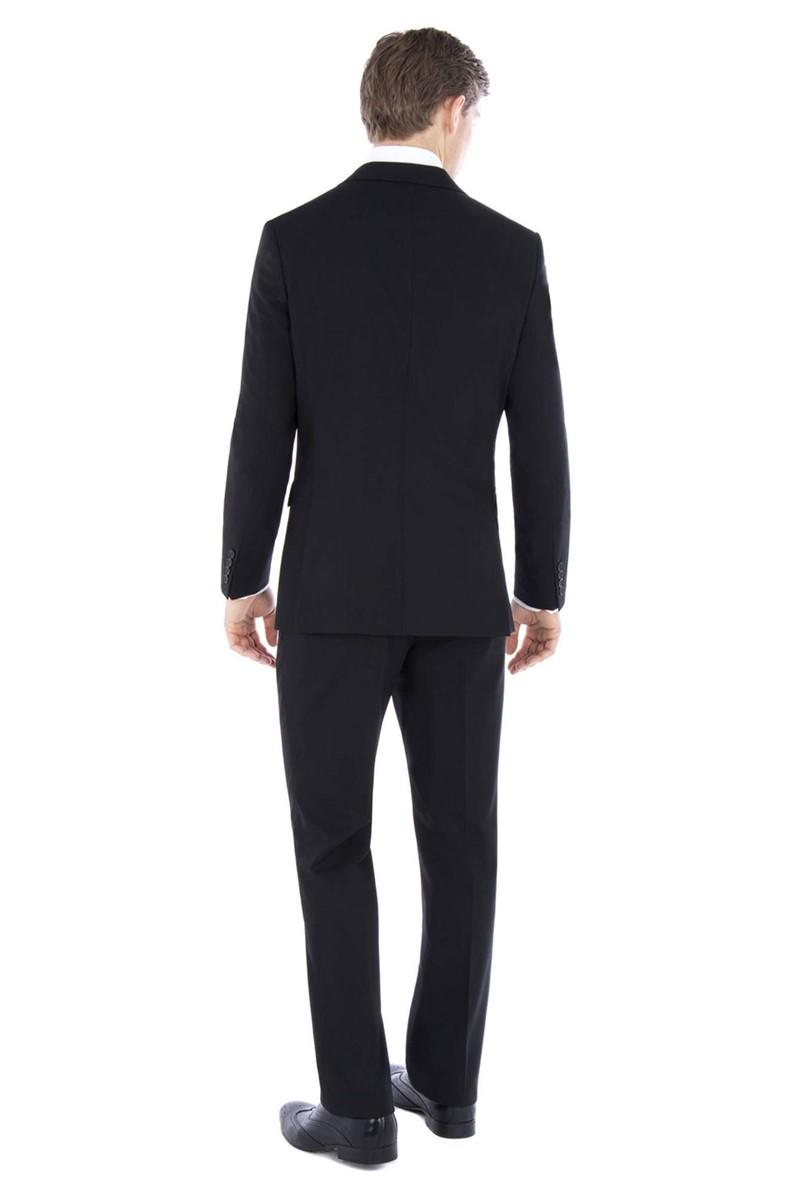 Black Travel Regular Fit Waistcoat