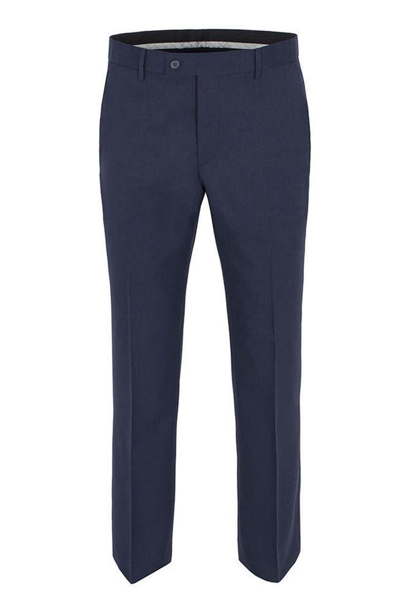 Studio Blue Twill Tailored Fit Suit Trouser